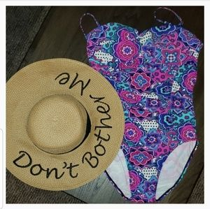 New Collection XVIII Don't Bother Me Floppy Sunhat